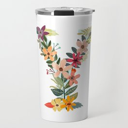 Monogram Letter Y Travel Mug