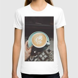 Latte Art VII T-shirt