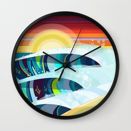 TACO CITY Wall Clock
