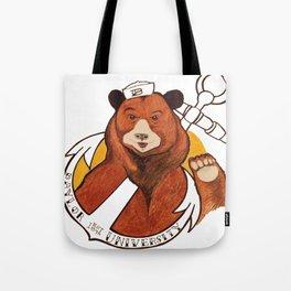 Sailor Bear Redux - Baylor University Tote Bag