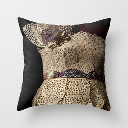 Desiree and the Boy Who Broke Her Heart Throw Pillow