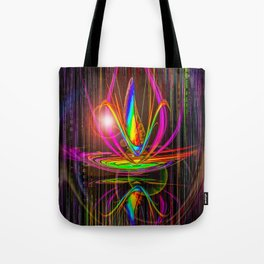 Abstract perfection - Light and shadow Tote Bag