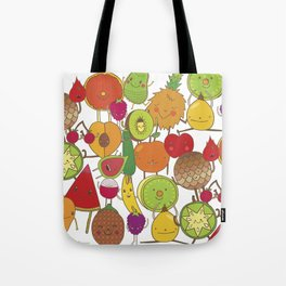 Veggies Fruits Tote Bag