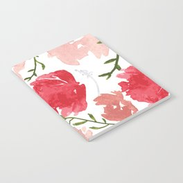 Watercolor Floral Pattern Notebook