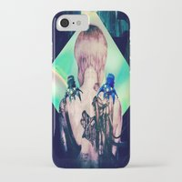 ghost in the shell iPhone & iPod Cases featuring ghost in the shell tribute: 25th anniversary  by Candice Steele Collage and Design
