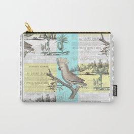 Paris Cockatoo's Colonial Dream Carry-All Pouch
