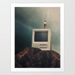 We are going to Escape Art Print