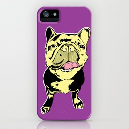Taco the French Bulldog iPhone Case