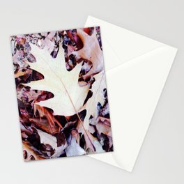 Feuilles de chenes Stationery Cards