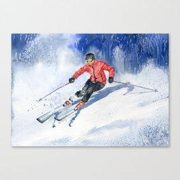 Winter Sport Canvas Print