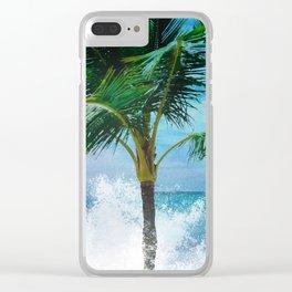 Tropic Splash Clear iPhone Case