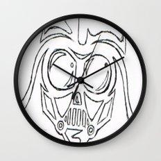 Baby Vader Wall Clock