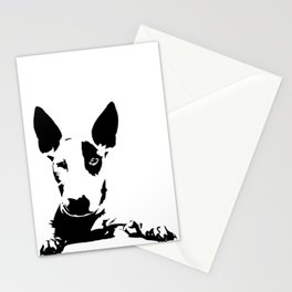 BULL TERRIER GIFTS Stationery Cards