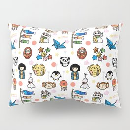 Lucky Japan Doodle Pillow Sham