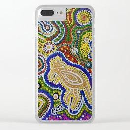 GWYALA (Dingo Dreaming) Clear iPhone Case