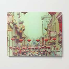 Down with Chinatown Metal Print