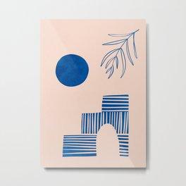 Greek Island // Summer Islands Metal Print