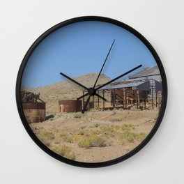 Goldfield Nevada Ghost Town Wall Clock