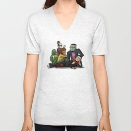 The Universal Monster Club Unisex V-Neck