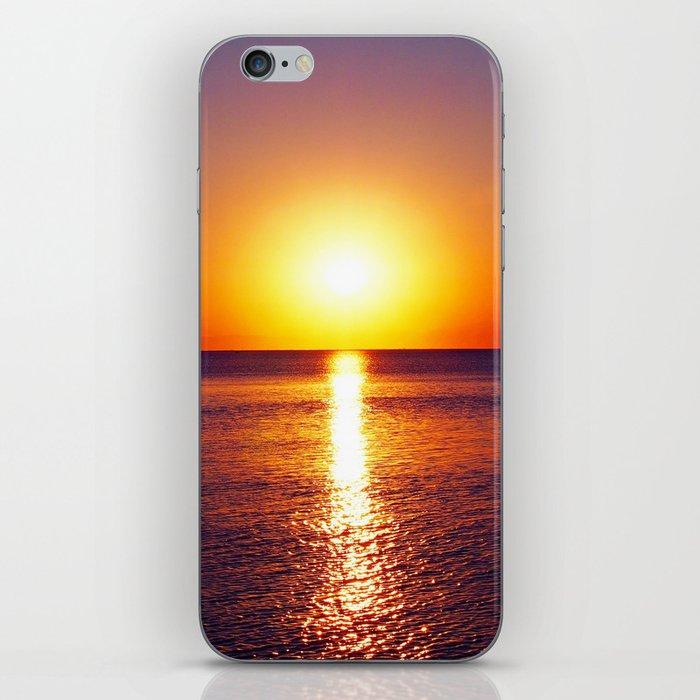 Peraia sunset iPhone Skin