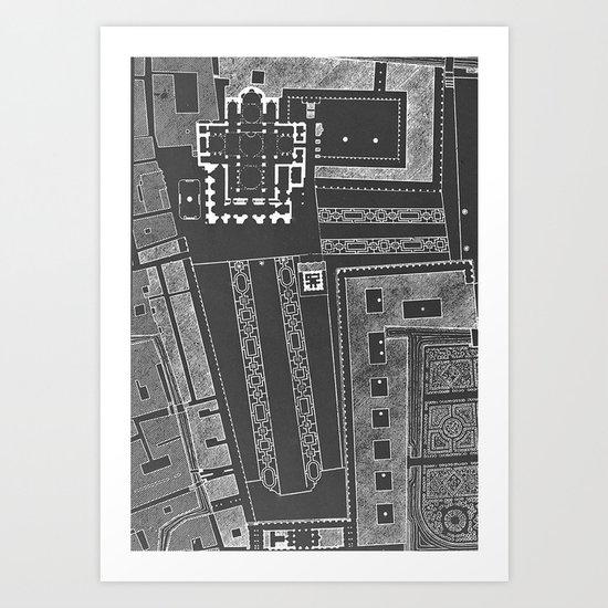 Plaza San Marco Art Print