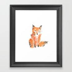 Slightly foxed Framed Art Print