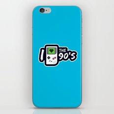 I Heart the 90's iPhone & iPod Skin