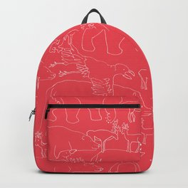 Global warming and animal migration 04 Backpack