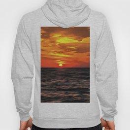 Sunset Over The Mediterranean Sea Hoody