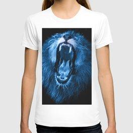 Digital fantasy drawing of a lion T-shirt