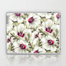 New Zealand Hibiscus Floral Print (Day) Laptop & iPad Skin