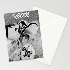 Audrey Hepburn ICONIC ICON BEAUTY SCENE Stationery Cards
