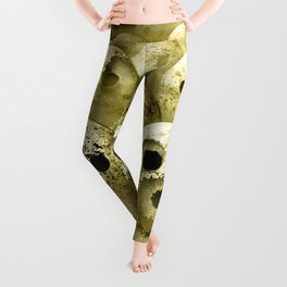 The Rolling Dead - Zombie Themed Bowling Material Leggings