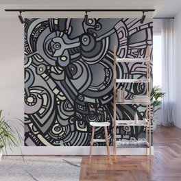 ROBOTS OF THE WORLD Wall Mural