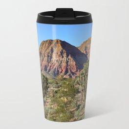 Cedar Pocket, Virgin River Gorge, AZ Travel Mug