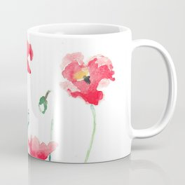 Poppies in the Garden Coffee Mug