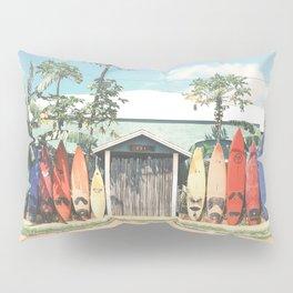Surfboards Maui Hawaii Pillow Sham