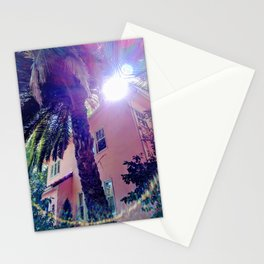 Lens flare palm (2019), a Society6 Exclusive Stationery Cards