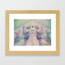 KALEIDOSCOPIC DREAMS Framed Art Print