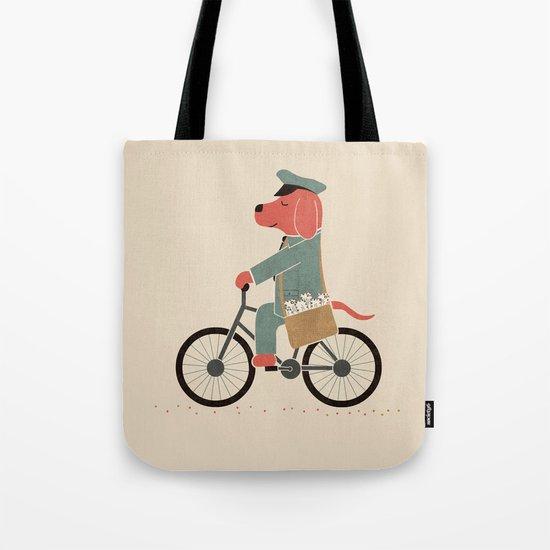 Postdog Tote Bag