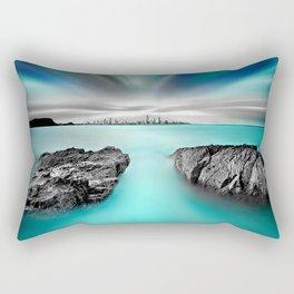 Quantum Divide Rectangular Pillow