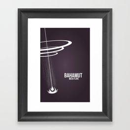 Final Fantasy X - Bahamut Framed Art Print