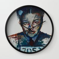 parks Wall Clocks featuring Rosa Parks by Debbie Chessell