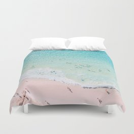 Beach Sunday Duvet Cover