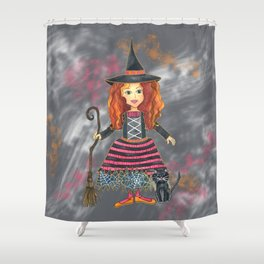 Zelda the Good Witch Shower Curtain