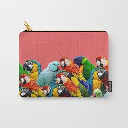 watermelon interior parrots design Carry-All Pouch