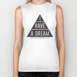I Have A Dream Martin Luther King Speech Biker Tank