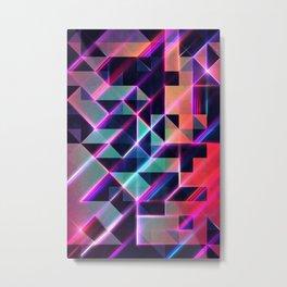 lysyr 8 Metal Print