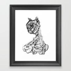 Feline Sentient Framed Art Print
