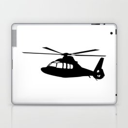 News Helicopter Silhouette Laptop & iPad Skin